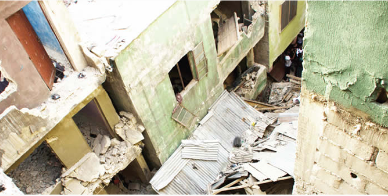 Trader accuses LASG officials of extortion during demolition of distressed building