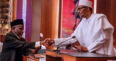 JUST IN: Senate confirms Ibrahim Tanko Muhammad as CJN