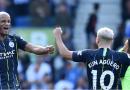 Man City bounce back against Brighton, retain Premier League title