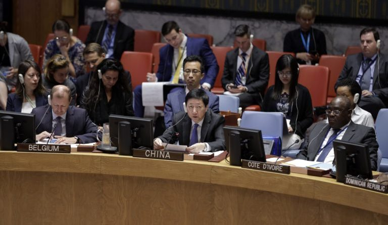 China, US clash over 'belt and road' credit at UN Security Council