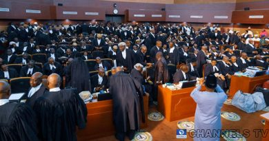 BREAKING: Supreme Court Dismisses Lyon And APC's Application For Lacking In Merit